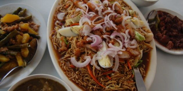 Northern Philippines version of everyday pansit.