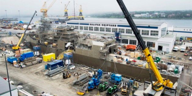 Canada's First Arctic Patrol Ship Is Now Under Construction In