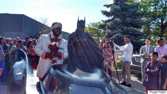 Toronto Groom Rolls Into His Wedding In Style With The Brampton