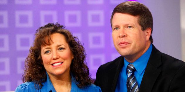 TODAY -- Pictured: (l-r) Michelle Duggar and Jim Bob Duggar appear on NBC News' 'Today' show  (Photo by Peter Kramer/NBC/NBCU Photo Bank via Getty Images)