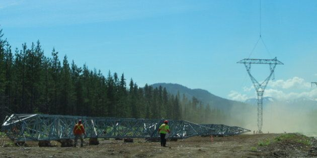 Construction of a new transmission line in the northwest to open up the area to new investment, industrial development and jobs.