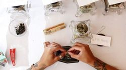 Couple Swaps Bartender For 'Budtender' On Wedding