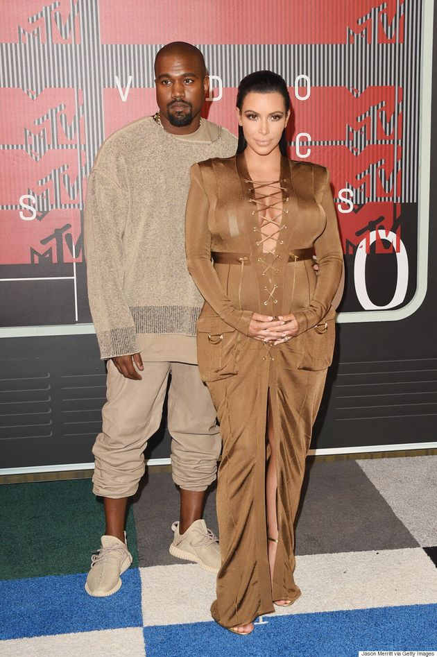 Kim Kardashian's MTV VMA 2015 Dress Is Safari