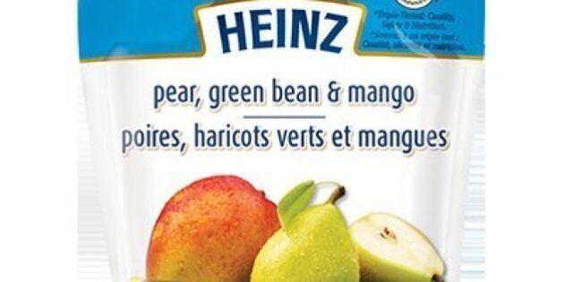 Heinz Pear Green Bean Mango Baby Food