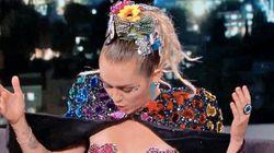 Miley Cyrus Wears Nipple Pasties To 'Jimmy