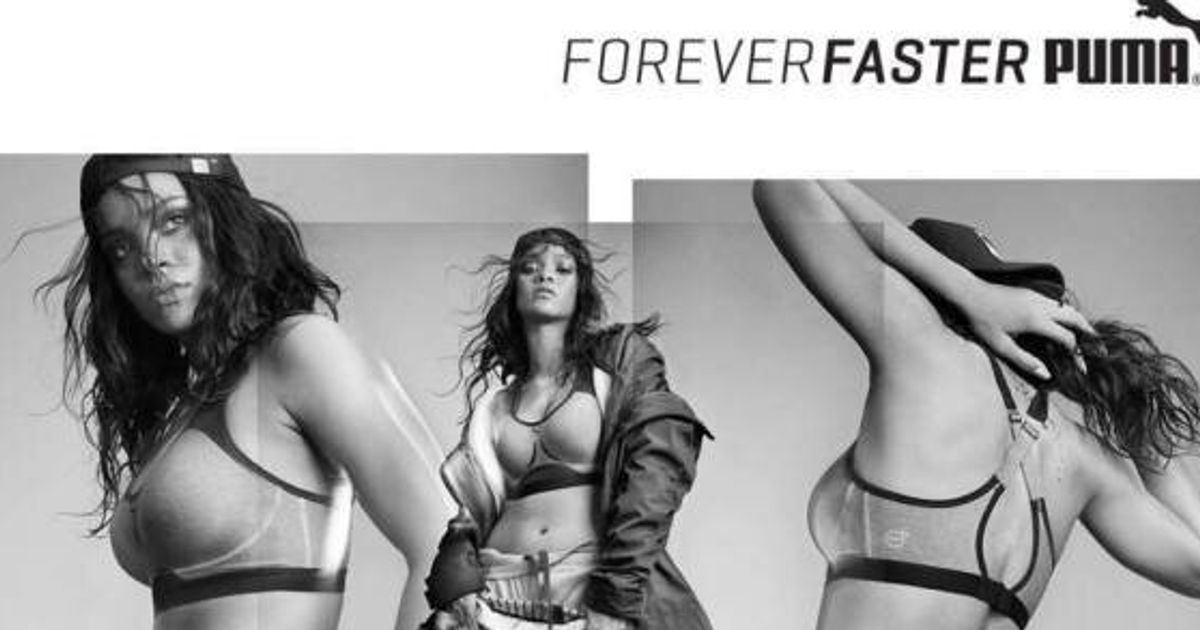plus récent 3e991 7eaef Rihanna's New Puma Ads Are Here And They're As Badass As You ...