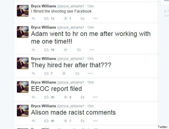 Bryce Williams, Former WDBJ7 Reporter, Named As Suspect In