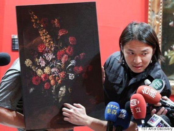 Boy Trips At Taipei Gallery, Breaks Fall With $1.5 Million