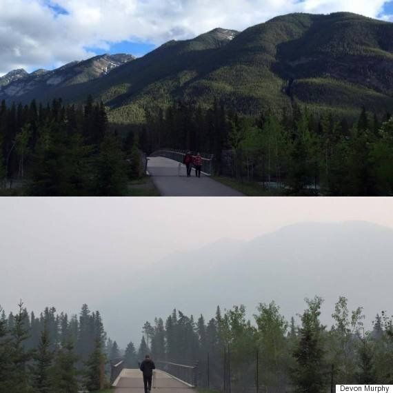 Wildfire Smoke Continues To Plague Southern Alberta Amid Air Quality