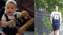 This Guy Dressed Like Prince George For A Whole