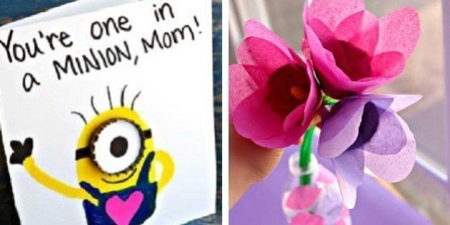 Mother's Day Crafts: 15 Ways To Shower Mom With