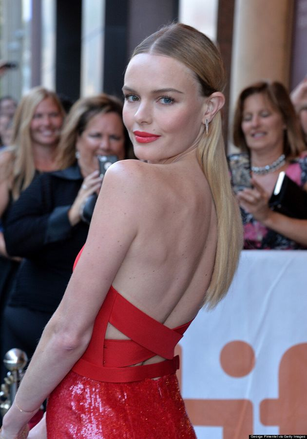 Kate Bosworth TIFF 2014: 'Still Alice' Star Goes Vamp In Red