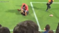 Assistant Referee Attacked During Soccer Game In
