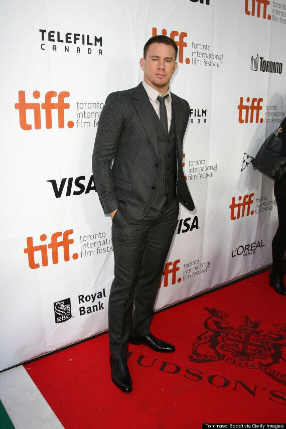 Channing Tatum TIFF 2014: 'Foxcatcher' Star Makes Fans Swoon On Red Carpet