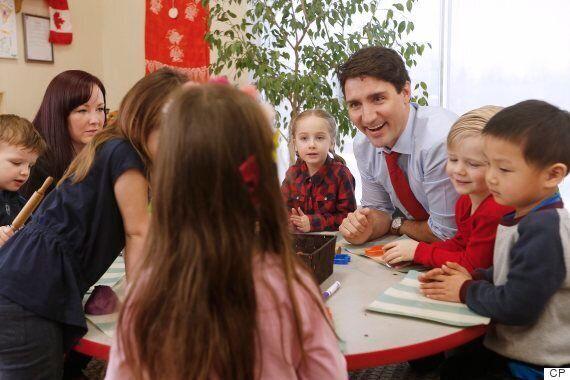 Trudeau's Child-Care Promises More 'Fanfare' Than Progress: