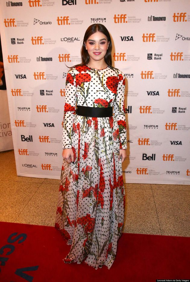 Hailee Steinfeld TIFF 2014: Young Star's Dress Is Perfect For