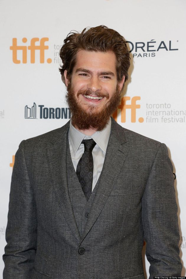 Andrew Garfield And His Massive TIFF 2014 Beard Are A