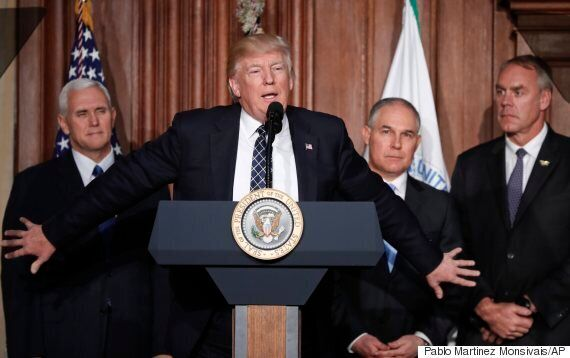 Trump Moves To Gut Obama's Climate Change Plan, Embrace 'New Era' Of