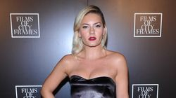 Elisha Cuthbert Takes A Fun Ride Up The CN