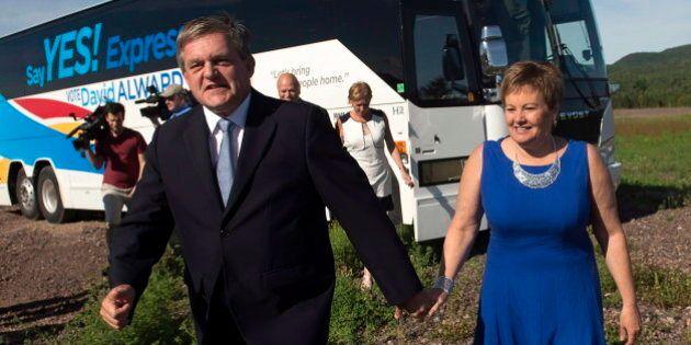 New Brunswick Election 2014: David Alward Spends Night In