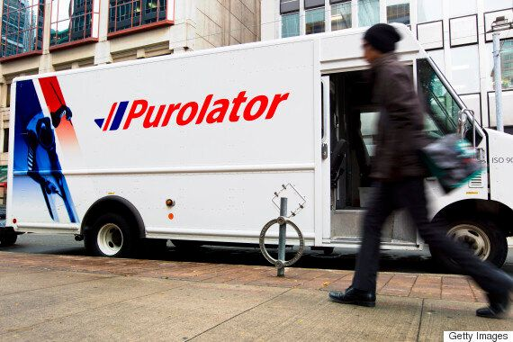 Purolator Stops Accepting New Packages Ahead Of Strike