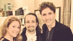 Trudeau, Lin-Manuel Miranda Geek Out Over