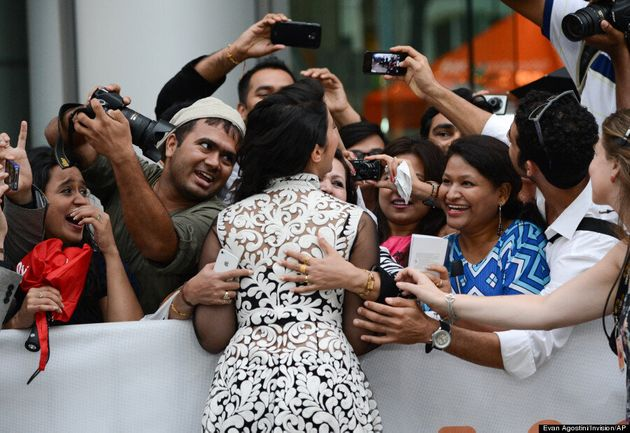 TIFF 2014: The Many Faces Of Fans Reacting To Celebrities On The Red