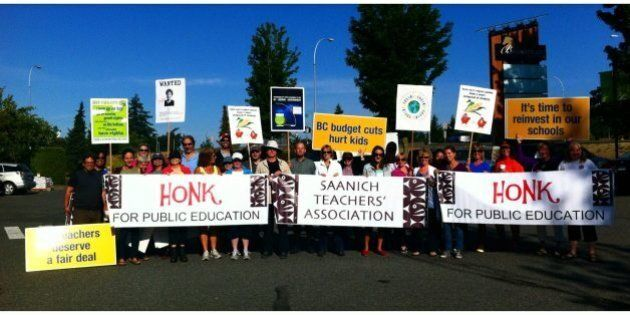 B.C. Teachers' Strike: Other Unions Throw Support Behind