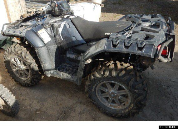 Gangster on ATV Leads B.C. Police On 4-Hour