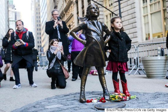 New York City Mayor Announces 'Fearless Girl' Statue Will Stay Through