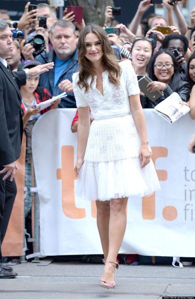 Keira Knightley Is TIFF's 2014 Best-Dressed Celebrity In