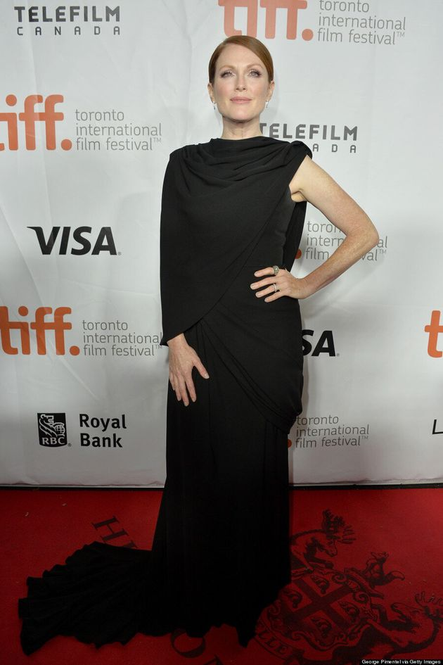 Julianne Moore At TIFF 2014: Actress Is Unbelievably Elegant In Draped