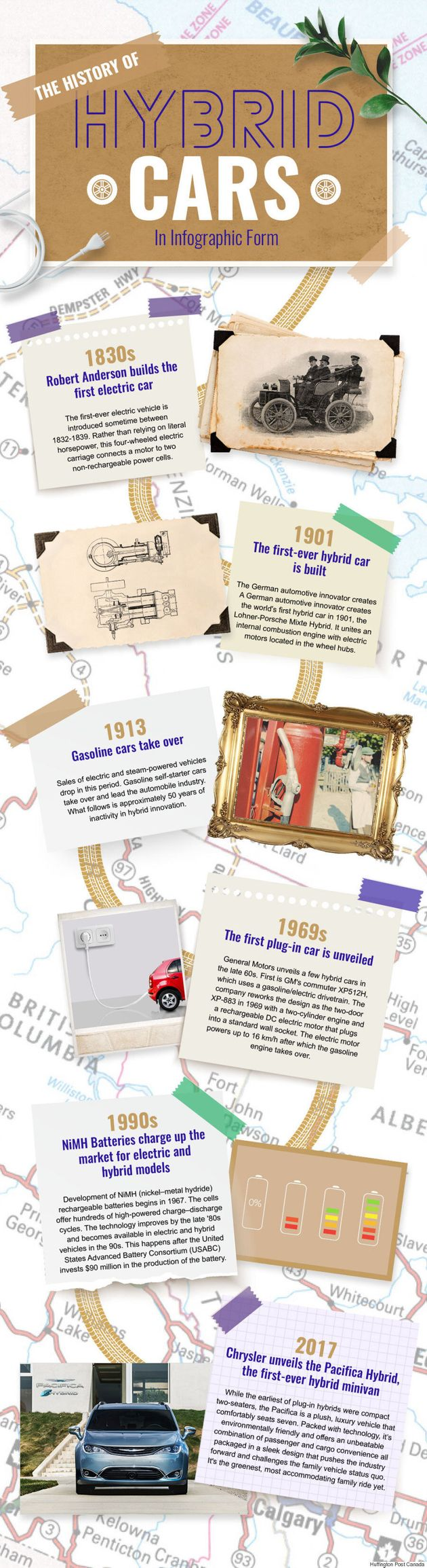 The History Of Hybrid Cars In Infographic