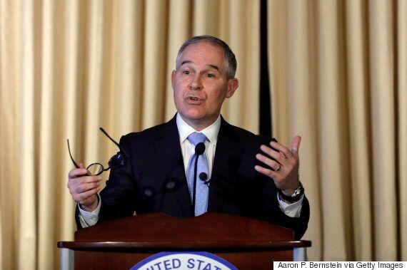 Scott Pruitt, U.S. Environment Chief, Says Trump Will Kill Obama's Climate Change