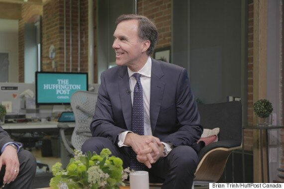 Bill Morneau: Basic Income 'Not Something We're Looking
