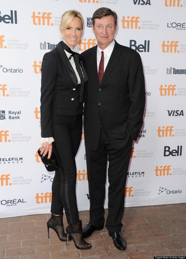 Janet Gretzky TIFF 2014: Paulina Gretzky's Mom Looks Chic In Tuxedo