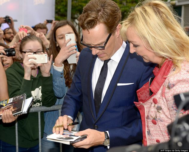 15 Reasons Why Benedict Cumberbatch Is The Hottest Star At TIFF