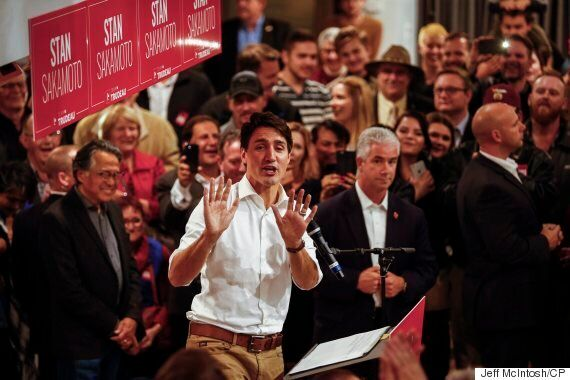 Trudeau Stumps In Tory Stronghold Of Medicine Hat Ahead Of