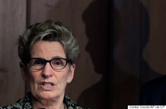 Kathleen Wynne's Job Approval Rating Is Just 12 Per Cent, Poll