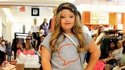 Model With Down Syndrome Walks Runway For Gap