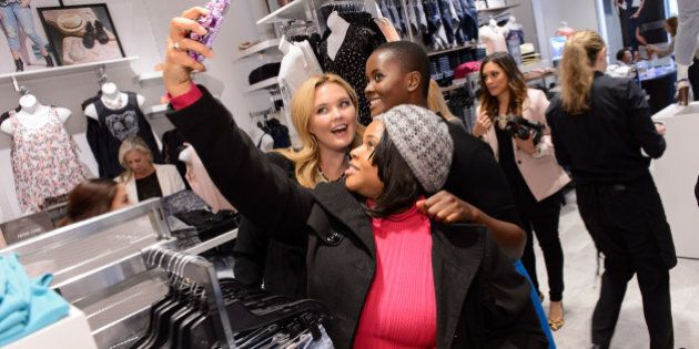 CHICAGO, IL - APRIL 08: A general view of atmosphere during the grand opening of the TORRID flagship...