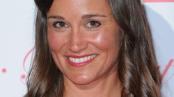 Pippa Middleton Stuns In Red