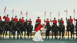 Photographer Nails 'Lucky' Wedding