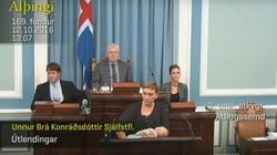 Badass Icelandic Politician Breastfeeds While Giving