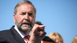 Mulcair, NDP Lessen Corporate Tax Hike