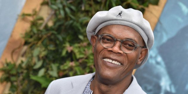 HOLLYWOOD, CA - JUNE 27:  Samuel L. Jackson arrives at the premiere of Warner Bros. Pictures' 'The Legend Of Tarzan' at TCL Chinese Theatre on June 27, 2016 in Hollywood, California.  (Photo by Axelle/Bauer-Griffin/FilmMagic)