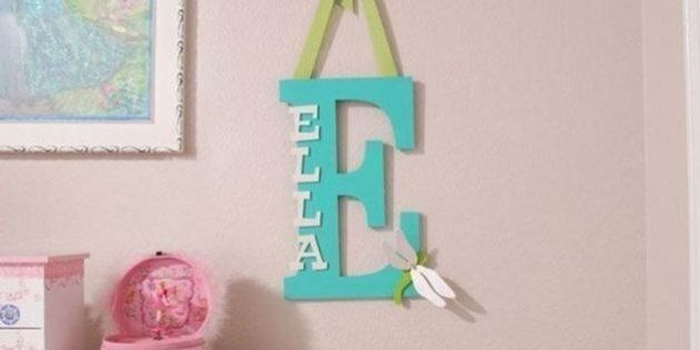 Baby Name Decor 15 Ways To Personalize