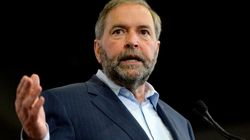 Mulcair To Hecklers: 'Show A Little Bit Of