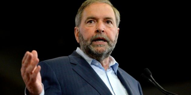 Mulcair To Energy East Hecklers: 'Show A Little Bit Of