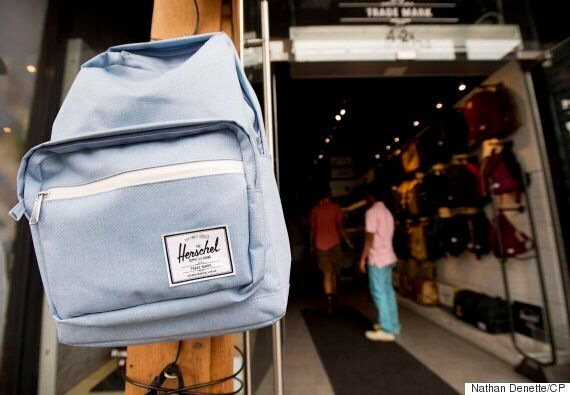 Herschel Backpacks Are Canadian -- And They're Killing The Global